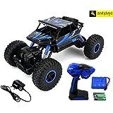 Zest 4 Toyz Rock Through Crawler 1:18 Scale 4Wd Rally Car - The Mean Machine