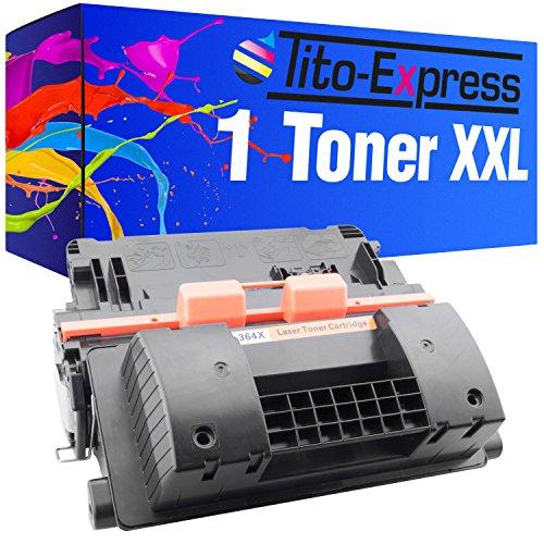 Tito-Express PlatinumSerie Toner XXL Schwarz für HP CC364X 64X