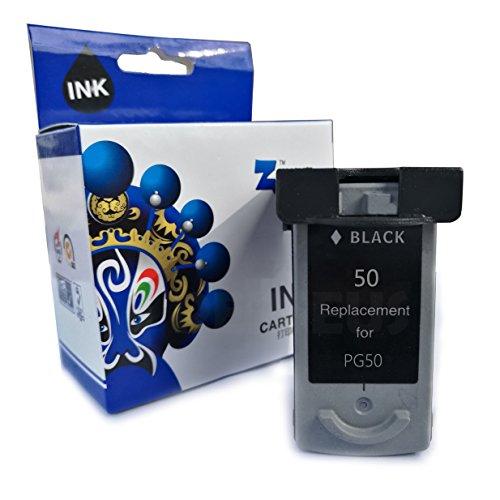 Perseus® Sostituzione con Canon PG-50 Nero/Black Cartucce d'inchiostro Alta Capacità Rigenerata Compatible
