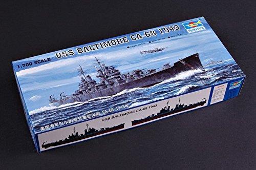Trumpeter 05724 Modellbausatz USS Baltimore CA-68 1943