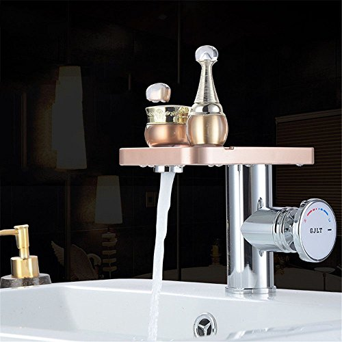 Daadi Haushalt Wasser Drache Header zu kalten Kühlkörper Gesicht Waschbecken Waschbecken Cold Heat Dragon header Temperatur Dragon Becken mit Panel Erntevorsatz eingestellt