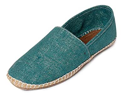 Bacca Bucci Men's Green Espadrille Flats - 10 UK, BBMB3194H