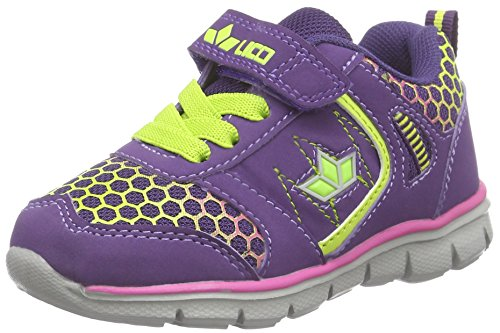 Lico Highlight VS, Mädchen Sneakers, Violett (lila/pink/lemon), 32 EU