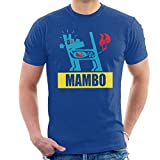 Mambo Farting Chili Blue Dog Men's T-Shirt