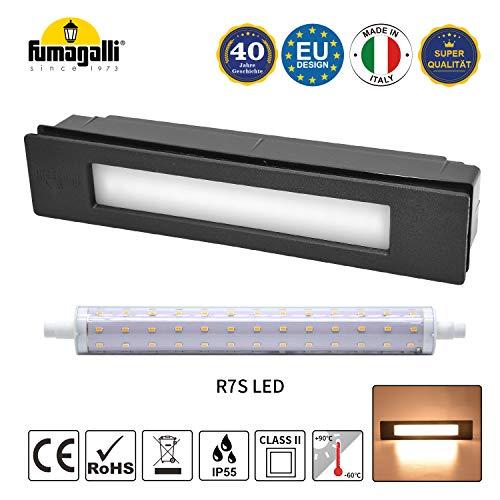 Foco LED empotrable para escaleras, jardín, entrada, terraza, muro y entradas, IP55,...