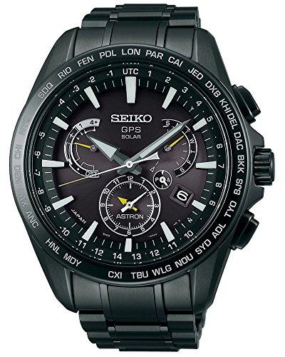 Seiko Herren-Armbanduhr Chronograph Quarz Edelstahl SSE079J1