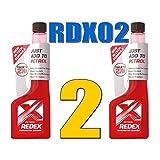2Redex à essence (Carb) Traitement 250ml sans danger pour Catalyseurs Chats Rdx02