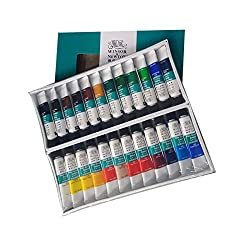 Winsor & Newton 24 Fine Acrylic Colour Set
