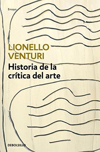 Historia de la crítica del arte por Lionello Venturi