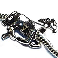 Charm Buddy Galloping Horse Charms Bead Fits Silver Charm Bracelets Jewellery