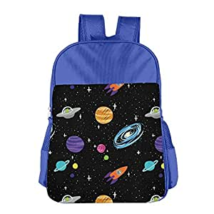 Solar System Children School Backpack Carry Bag for Youth Boys Girls