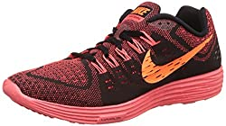 Nike Mens Lunartempo Black and Orange Crimson Running Shoes - 9 UK/India (44 EU)(10 US)