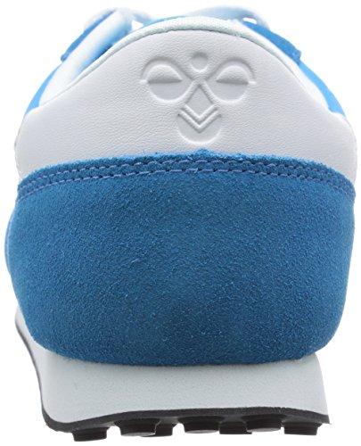 Hummel Seventyone Lo Unisex-Erwachsene Low-Top Blau (Methyl Blue 7672)