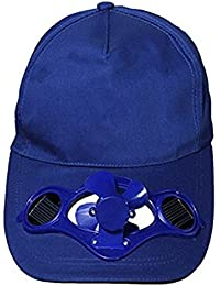 HanLuckyStars® Solarventilator Hut Kappe für Golf und Solar-Baseball-Cap mit dem kühlen Mini-Ventilator Outdoorsport Sonnenhut Unisex