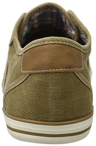 Mustang 4058305, Baskets mode homme Marron (44 Sand)