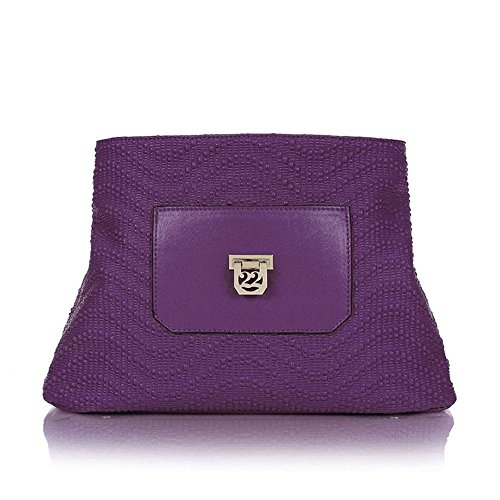 Numeroventidue BODY LADY MED PUMP Borse Accessori Purple