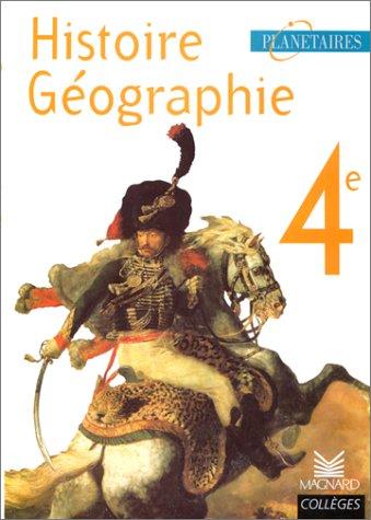 Planétaire : livre de l'élève 4e
