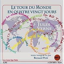 Le tour du monde en quatre vingt jours 1 CD MP3