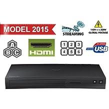 Lettore DVD SAMSUNG BD-J5100, multi-zona, senza codice regione DVD 012345678,