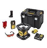 DeWalt DCE074D1R-QW Niveau Laser drehbar 18V mit Koffer und Zubehör