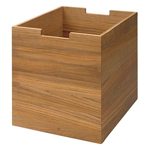 Preisvergleich Produktbild Skagerak Cutter Box groß mit Rollen Teak S1920420