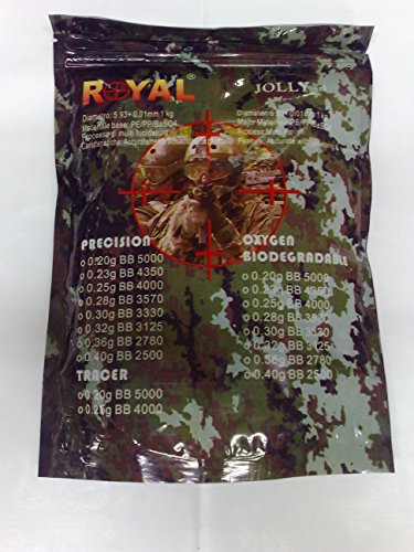 Pallini Royal Precision 0,25 in confezione da 4000 bb soft air