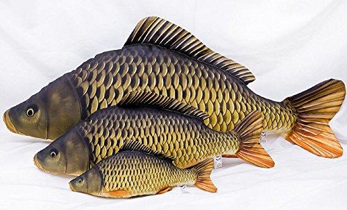 GABY DER KARPFEN Schuppenkarpfen Stofftier 36cm / 64cm / 100cm Fisch Kissen