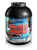 IronMaxx 100% Whey Protein – Wasserlösliches Proteinpulver – Eiweißpulver mit Dark Ecuador Chocolate Geschmack – 2,35 kg Dose