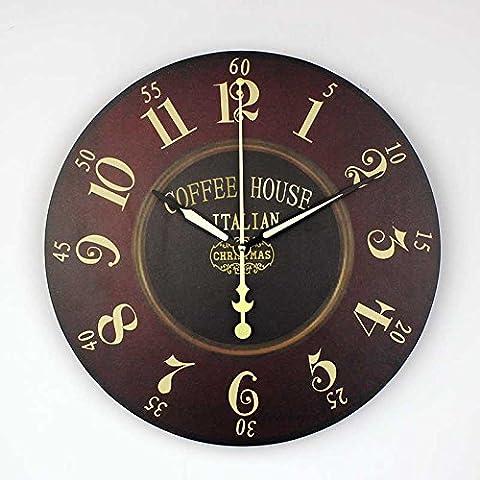 CNMKLM Vintage Orologio da parete Orologio Digita grandi Orologi da parete #9