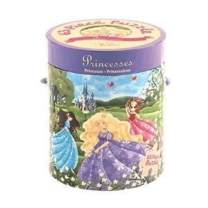 Mudpuppy - Puzzle de 63 piezas, diseño de princesas (MPPT35165)