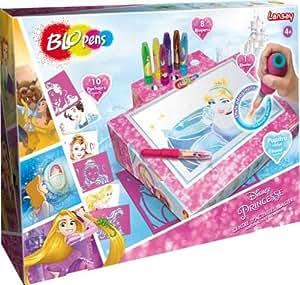 Lansay - 23439 - Loisirs Créatifs - Blopens - Centre D'activités Blaster Princesses