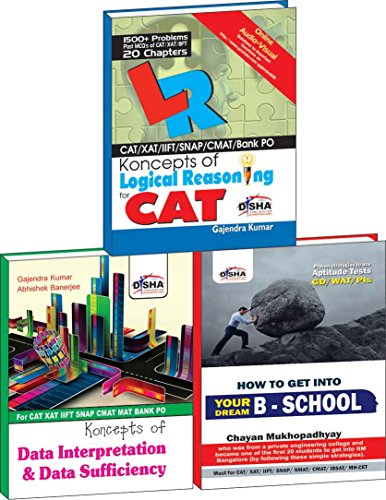 Data Interpretation & Logical Reasoning for CAT/XAT/IIFT/CMAT/MAT (Box Set)