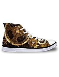WAWEN - Zapatillas de Caucho para hombre, color dorado, talla 40 2/3 EU