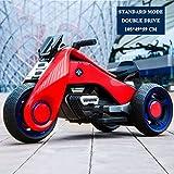 ALTRUISM Kinder Elektrische Motorrad Dreirad Kinder Spielzeug 2-7 Jahre Boy & Girl Baby Batterie...