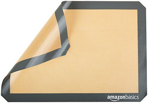 AmazonBasics - Tappetini da forno in silicone, 2 pz