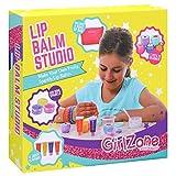 GirlZone: Lippenbalsam Set Selber Machen - Kinderschminke Set mit 22 Teile - Labor der Lippenstifte & Kinderkosmetik Make-up-set - Geschenk für Mädchen 6-10 Jahre alt