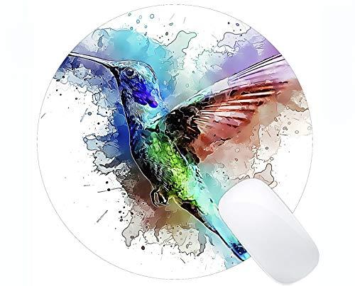 Gaming Round Mouse Pad Benutzerdefinierte, bunte Flash-Kolibri Mouse Mat (Flash Baumwolle Bälle)