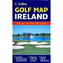 Golf Map of Ireland (Collins Maps)