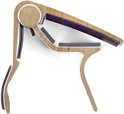 Dunlop 83CM Acoustic Trigger Capo, Curved, Maple
