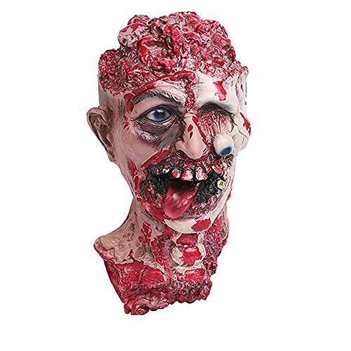 Preisvergleich Produktbild Halloween Masken, Rosennie Erschreckend Geistermaske Maske Horror Zombie Monster Dämon Totenkopf Schädel Kopfmaske hochwertigen Für Festival Party Cosplay, Cosplay, Halloween, Kostü (A 1)