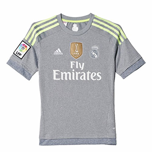 ots Real Madrid Away World Cup 2015-2016 Grey/Yellow 14a Junior ()