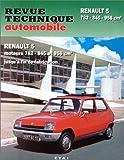 Renault 5 - 5 L, 5 TL, 5 Lauréate l et 5 société