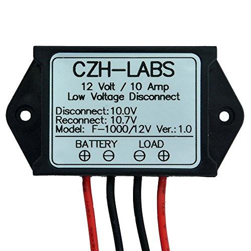 Electronics-salon salva disconnessione a basso voltaggio, modulo lvd, 12 v 10a, proteggere e prolungare la vita della batteria.