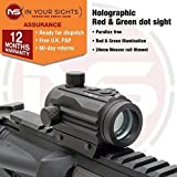 In Your Sights Holographic red & green dot sight/Micro M1 airsoft rifle sight