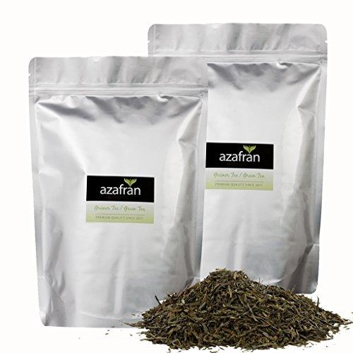 Azafran Grüner Tee – Japanischer BIO Sencha Uchiyama Grüntee 1kg