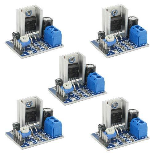 ICQUANZX 5pcs 6~12V Singola Alimentazione 18W TDA2030A Amplificatore Audio Amplificatore per DIY