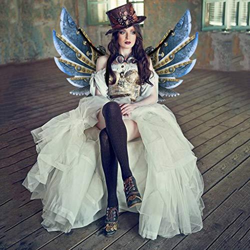 loween Karneval Cosplay Rollenspiel Dress Up Kostümzubehör Spielcharakter Flügel Mechanische Flügel Cool zu Jungen Geburtstagsgeschenke Sammlung (M) ()