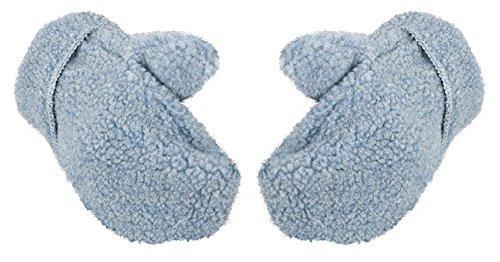 Alwero Damen Winter-Handschuhe Warme Wolle Thermohandschuhe (M, Freeze Blau) Warme Wolle Handschuhe
