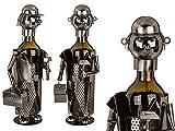 OOTB Metall-Flaschenhalter Handwerker, ca. 22 x 15 cm # 71/3175