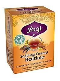 Yogi Soothing Carmel Bedtime Tea, 16 Tea Bags (Pack of 6)